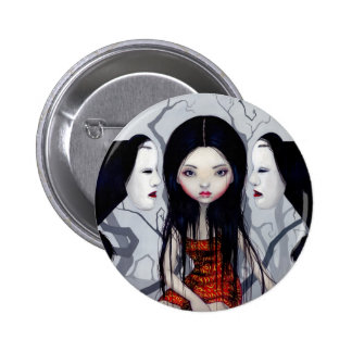 """""""Faceless Ghosts"""" Button"""