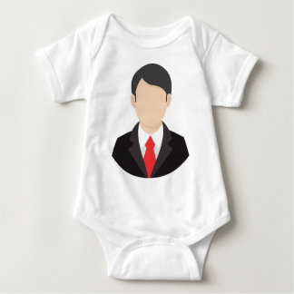 Faceless Man Baby Bodysuit
