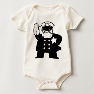 faceless servant of the law baby bodysuit
