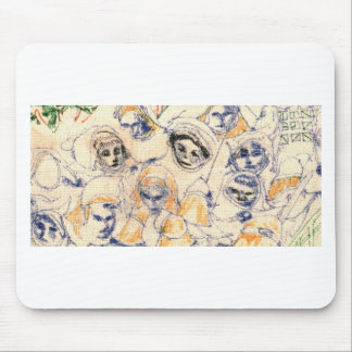 Faces Mouse Pad