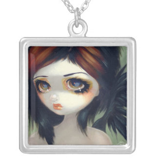 Faces of Faery 130 NECKLACE gothic big eye fairy