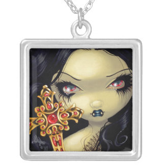 Faces of Faery 91 NECKLACE gothic vampire fairy