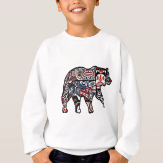 FACES OF FOREST SWEATSHIRT