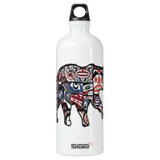 FACES OF FOREST WATER BOTTLE