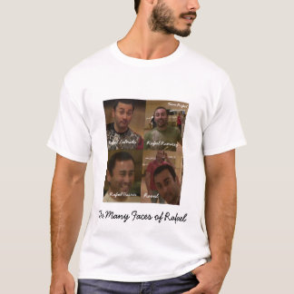 Faces of Rafael T-Shirt