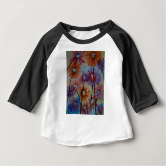 Faces of the flowers baby T-Shirt