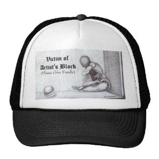 Faces Print Hat
