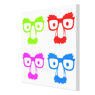 FACES STRETCHED CANVAS PRINTS