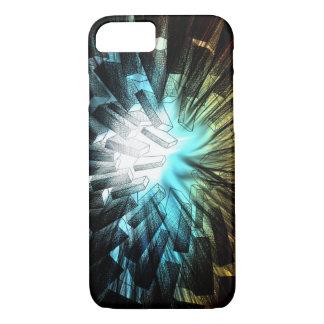 Faceted Iris - Apple iPhone Case