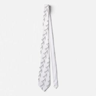 Facial Massage Stick Figure Tie