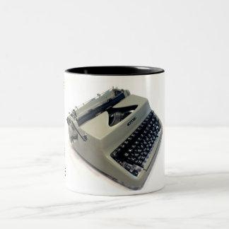 Facit TP1 typewriter Two-Tone Coffee Mug