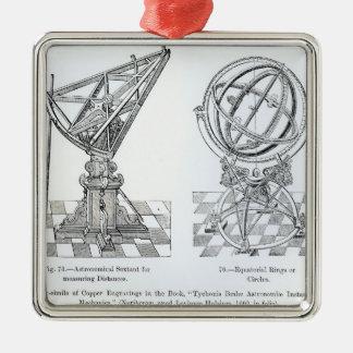 Facsimile of Copper Engravings Metal Ornament