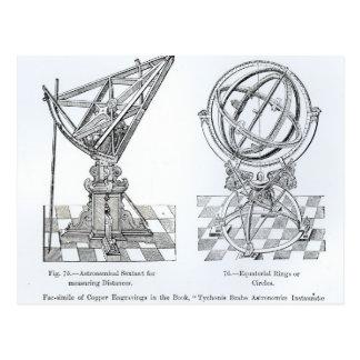 Facsimile of Copper Engravings Postcard