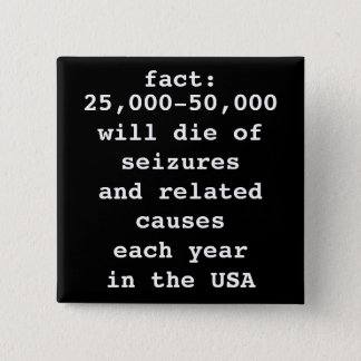fact: # will die 2 inch square button