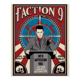 """""""Faction 9"""" Novel Poster"""