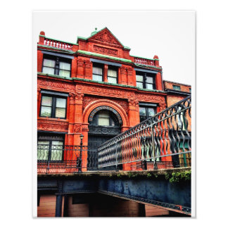 Factors Walk, Savannah Photo Print
