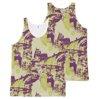 Factory All-Over-Print Tank Top