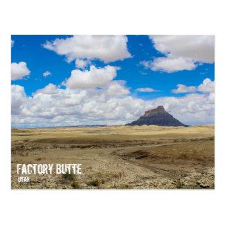 Factory Butte, Utah Postcard
