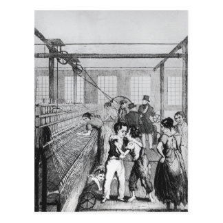 Factory Children, or Love conquerd fear Postcard