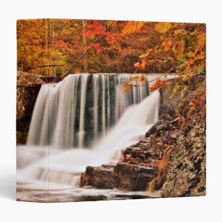 "Factory Falls in Autumn 1.5"" Photo Album 3 Ring Binder"
