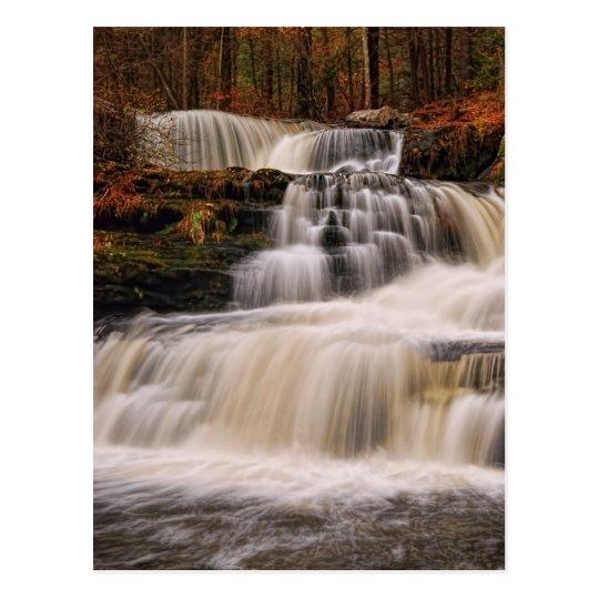 Factory Falls in the Poconos of Pennsylvania Postcard