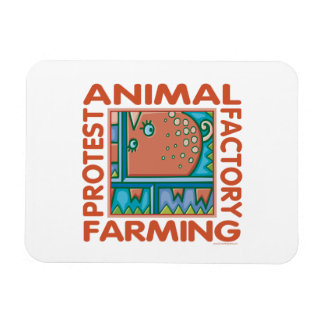 Factory Farming, Animal Rights Magnet