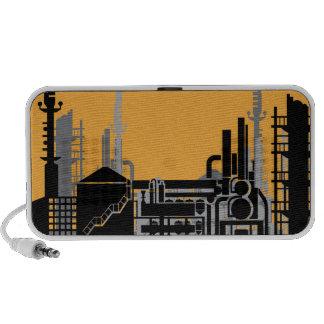 Factory vector notebook speaker