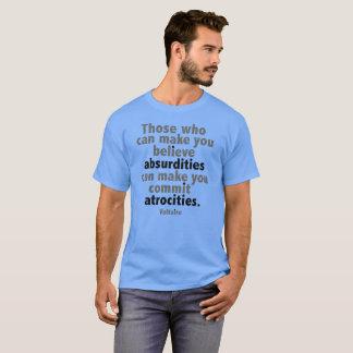 Facts Matter. Resist Trump! T-Shirt