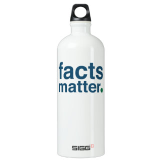 Facts Matter Water Bottle