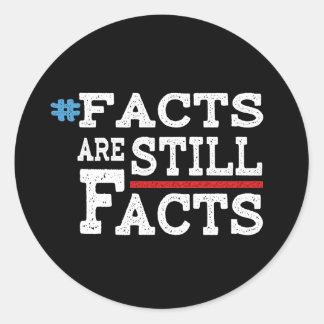 #FactsAreStillFacts Classic Round Sticker