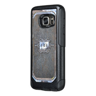 Fadden V Pretty Personalized Monogram OtterBox Samsung Galaxy S7 Case