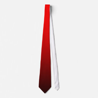 Fade Tie  - Red to Black