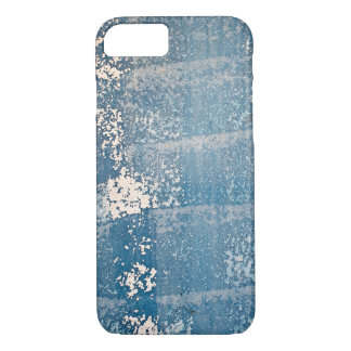 faded blue paint texture iPhone 8/7 case
