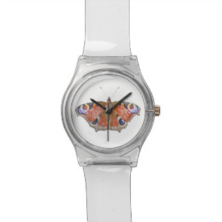 faded butterfly watch