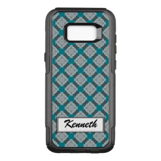Faded Circle Grid by Kenneth Yoncich OtterBox Commuter Samsung Galaxy S8+ Case