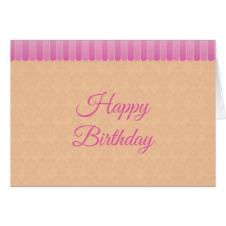 Faded Damask 5 Card