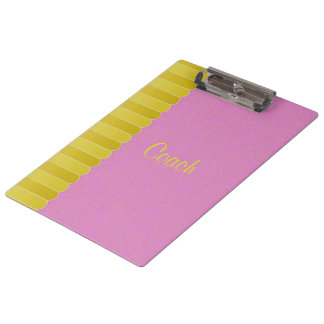 Faded Damask 7 Clipboard