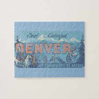 Faded Denver Jigsaw Puzzle
