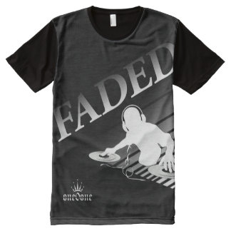 Faded DJ All-Over-Print T-Shirt