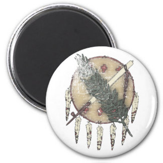 Faded Dreamcatcher Magnet