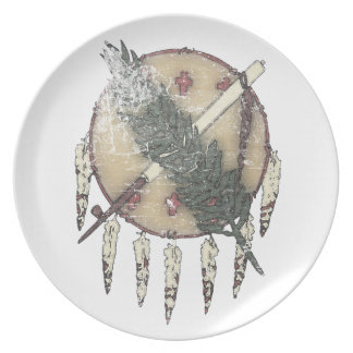 Faded Dreamcatcher Party Plates