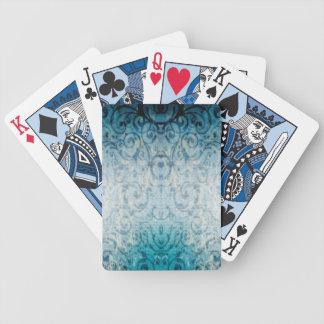 Faded Elegant Flourish Bicycle Playing Cards