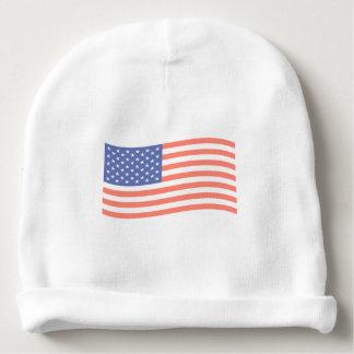 FADED FLAG BABY BEANIE