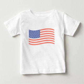 FADED FLAG BABY T-SHIRT