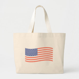 FADED FLAG LARGE TOTE BAG
