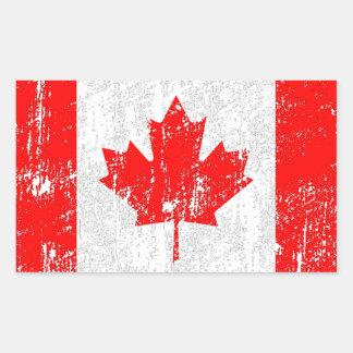 Faded Flag Of Canada