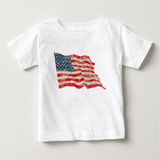 Faded Glory American Flag Baby T-Shirt