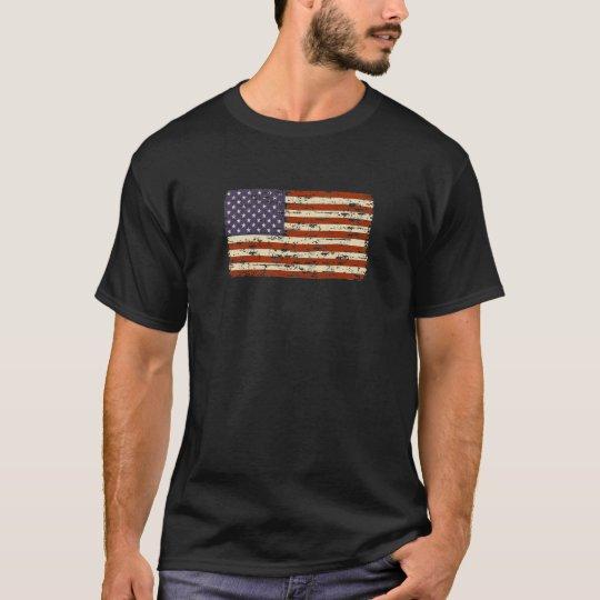 Faded Glory American Flag T-Shirt