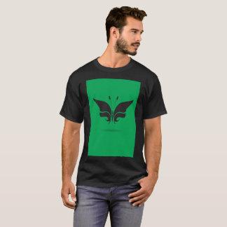 Faded Green Butterfly Wings Art Modern T-Shirt