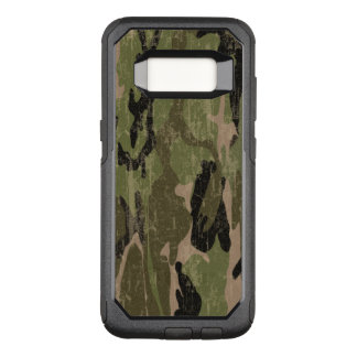 Faded Green Camo OtterBox Commuter Samsung Galaxy S8 Case